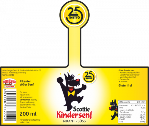 netto kindersenf